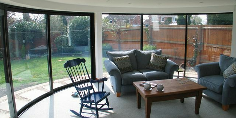 Curved Sliding Patio Doors